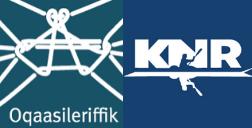 Oqaasileriffik KNR logo